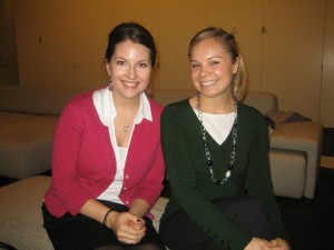 Kate Johnson '07, Leah Hogdahl '09