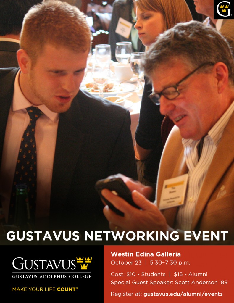 Gustavus Networking Event - October (2)