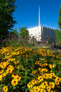 Christ Chapel and Flowers