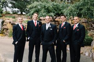 (L to R) Andrew Soleim '09, Peter Keay '07, Garrett Rorem '09, David Guptill '09, Justin Shanedling '13