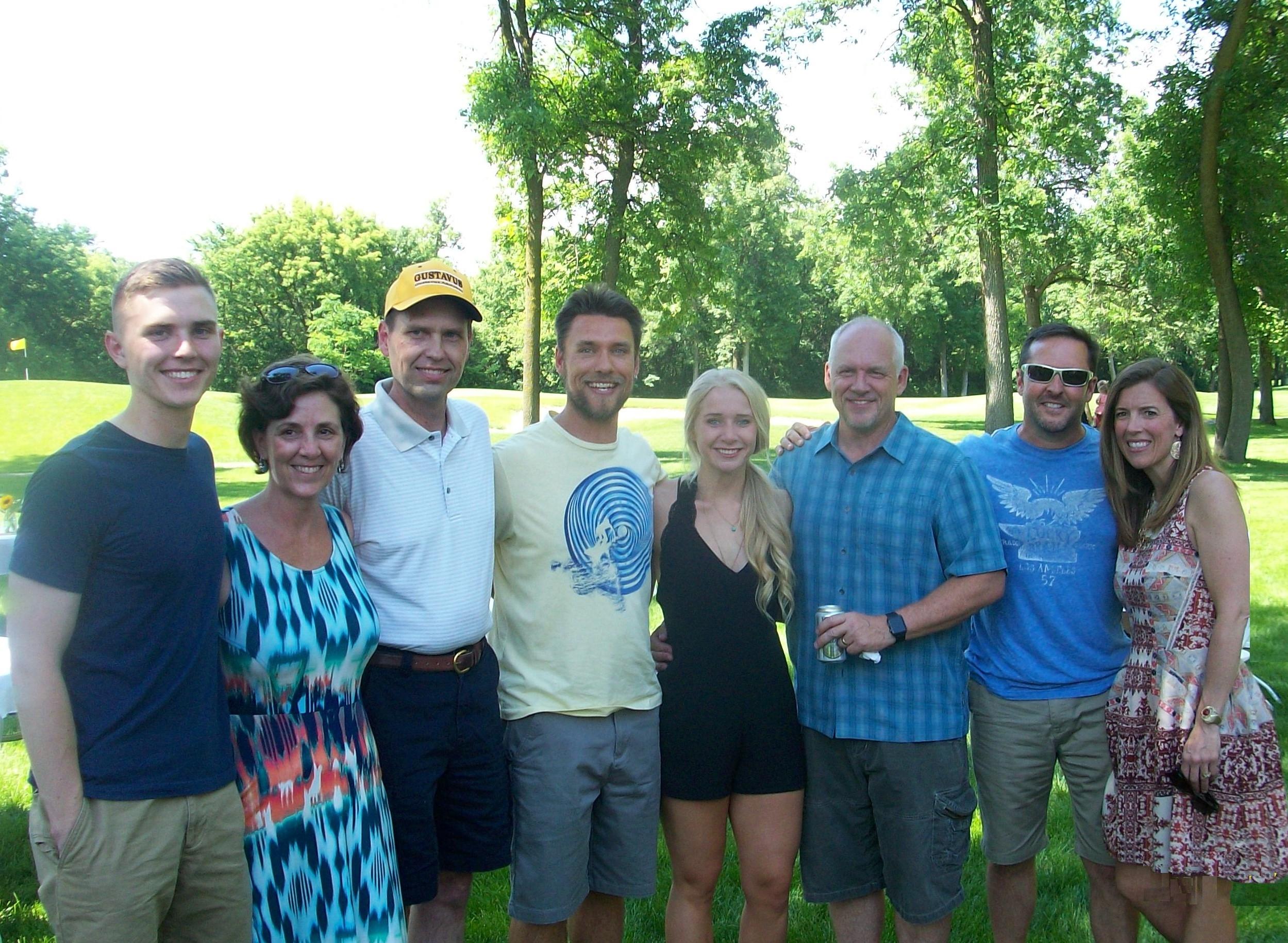 Lydia Brekke Champlin Park High School Graduation Party 6/11/16