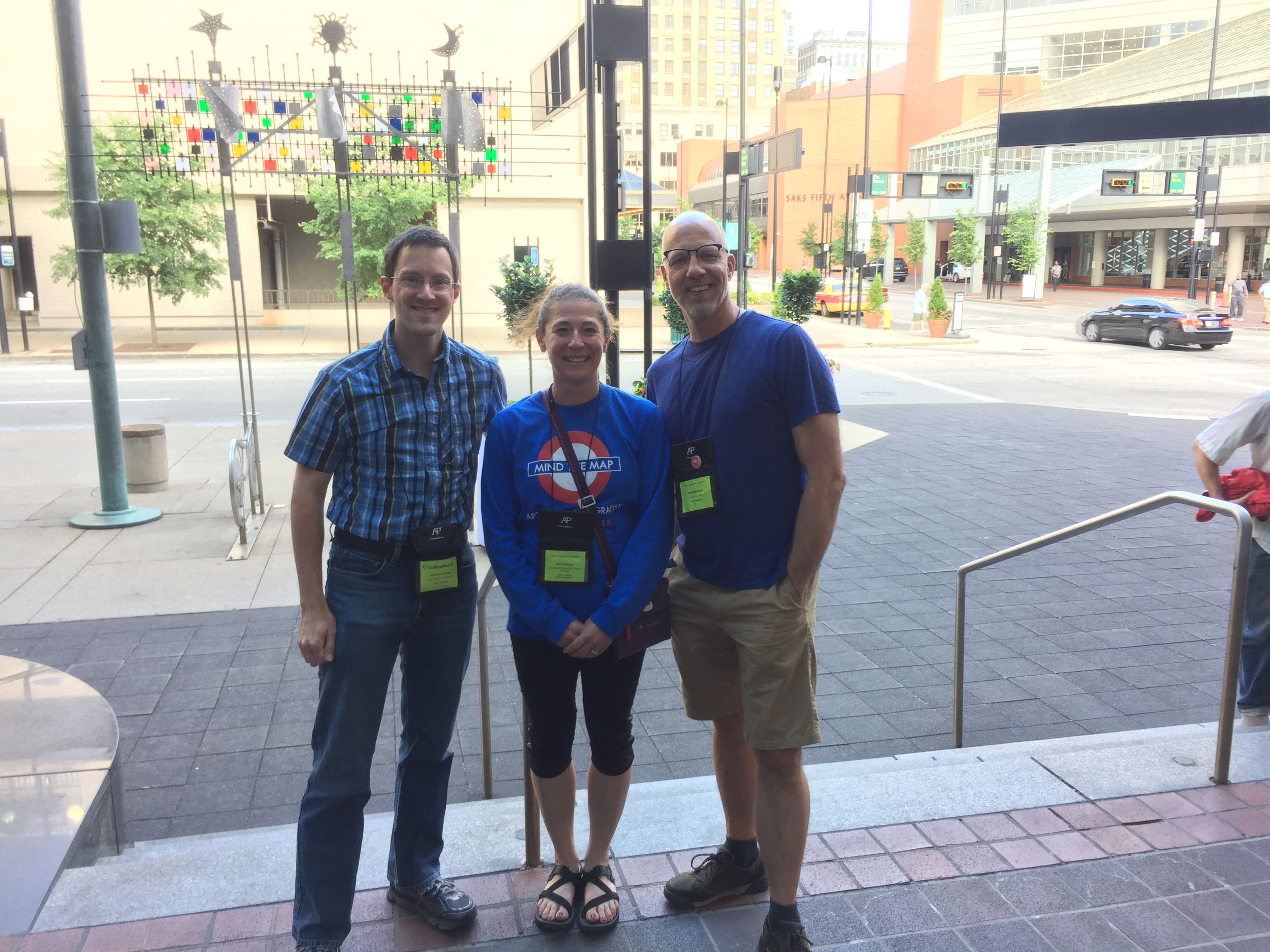 Geographers in Cincinnati