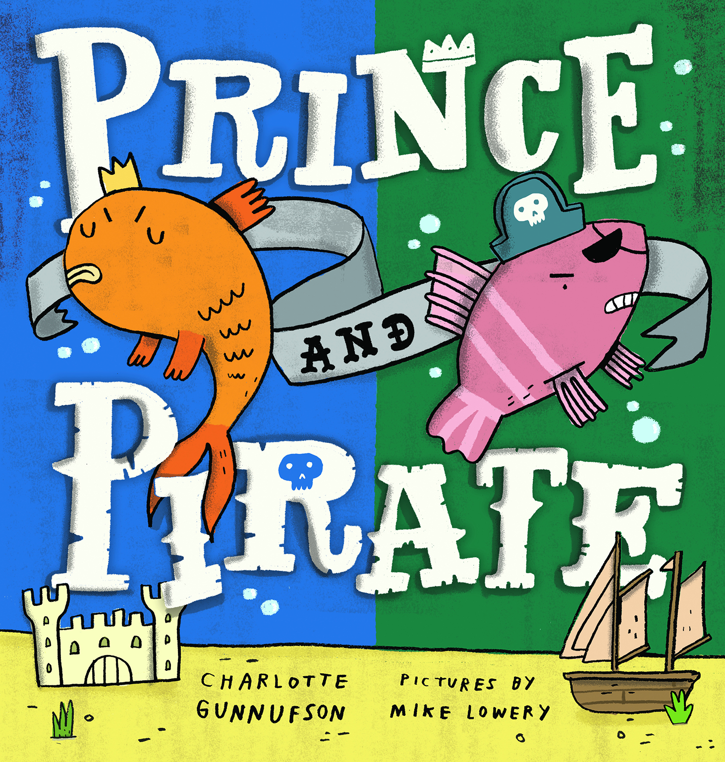 Prince and Pirate Front Cover