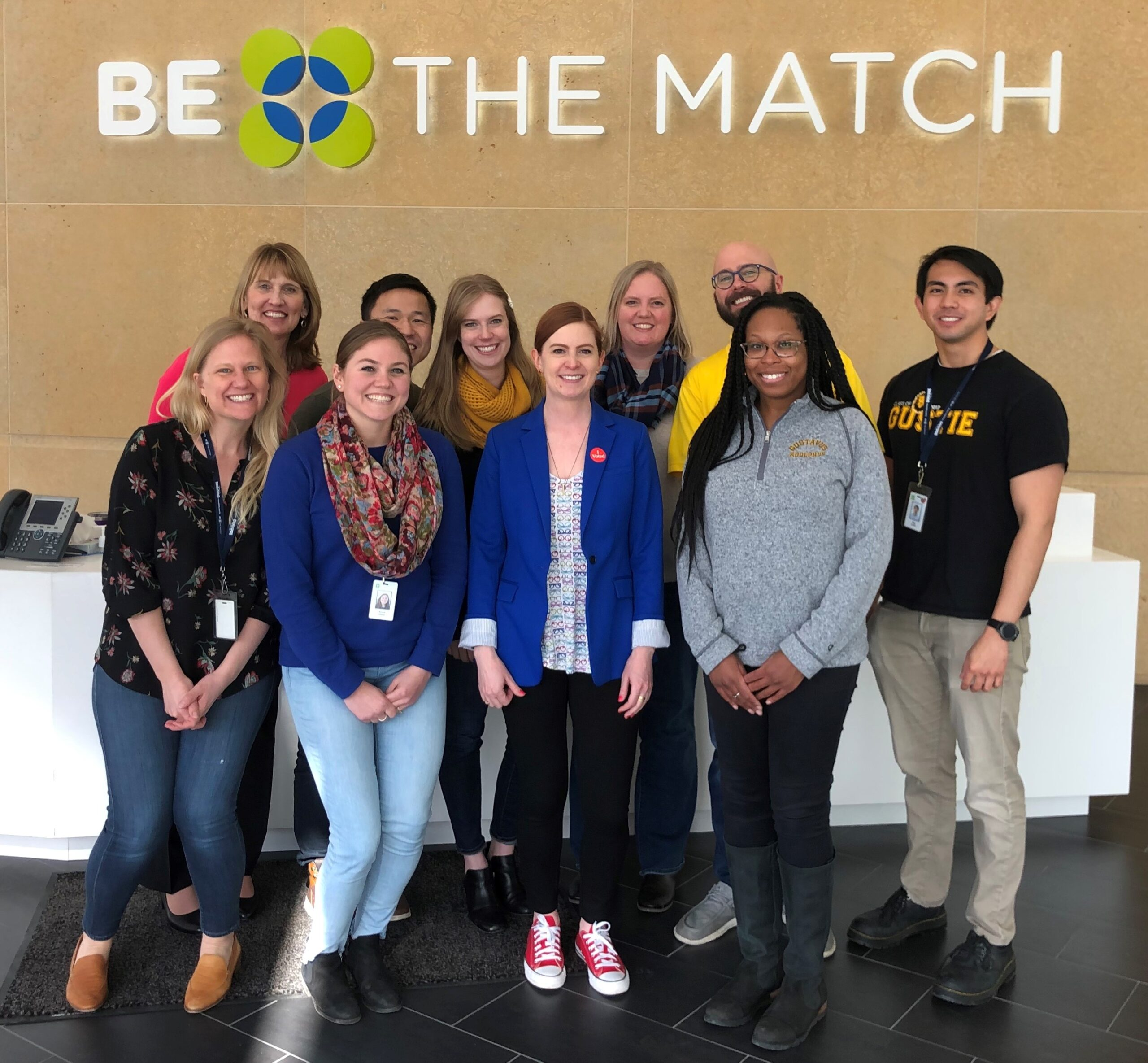Gusties who work at Be The Match
